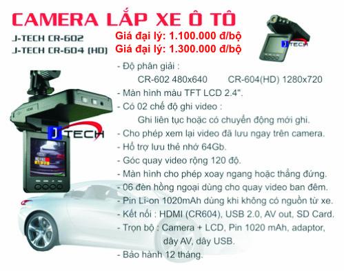 Camera hanh trinh - camera o to xe tai