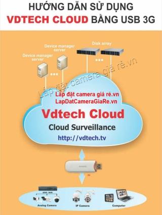 Huong dan cai dat USB 3G cho dau ghi camera - VDTech Cloud 1