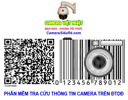 Phần mềm tra cứu thông tin camera quan sát trên điện thoại di động